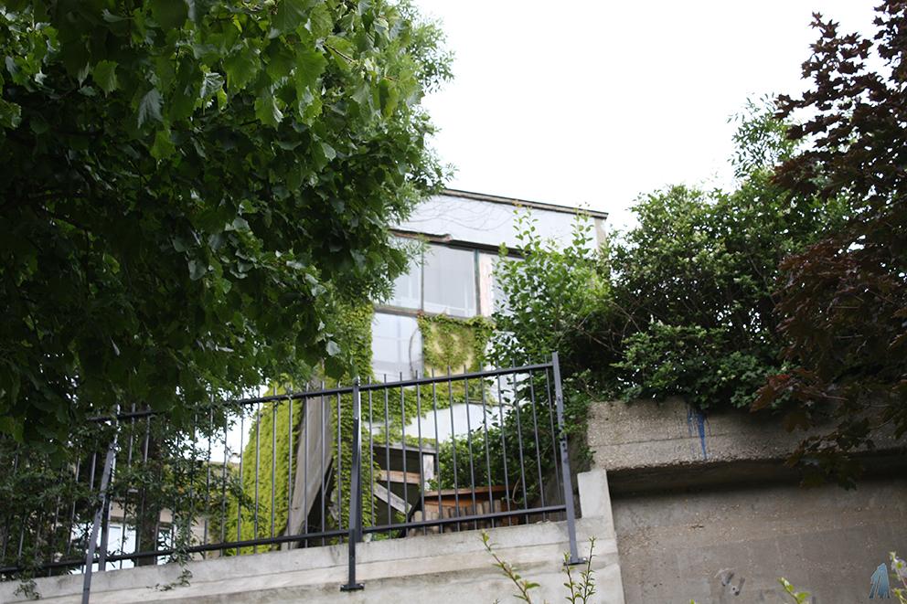 Façade arrière de la Maison Zilvelli © Emmanuel Crivat