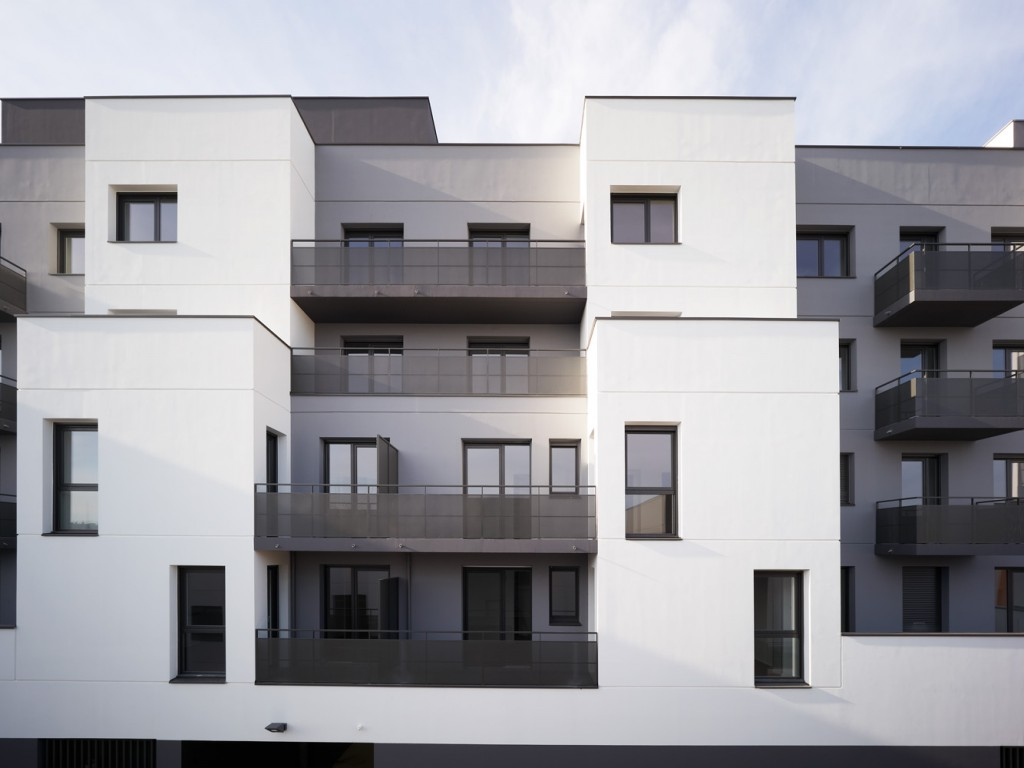 Housing project in Rennes, France © David Foessel