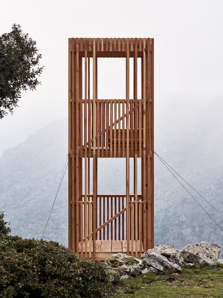 Observatoire du Cerf Corse © David Giancatarina, Julien Kerdraon