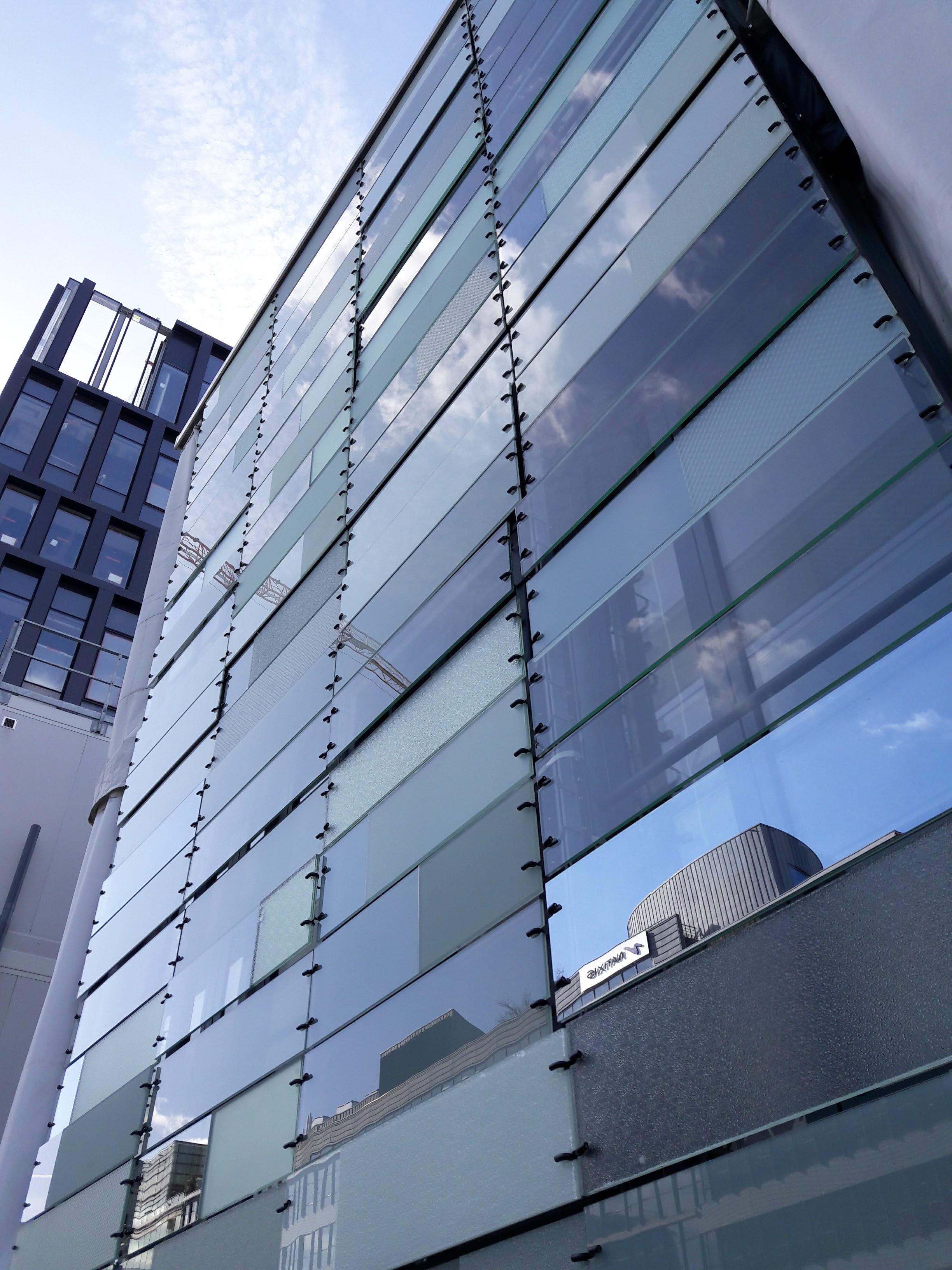 prototype de la façade du projet du siège du groupe Le Monde © Arcora