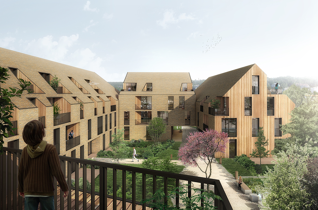 Housing project in Versailles © FRESH Architectures