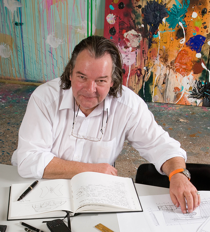Will Alsop © Malcolm Crowthers