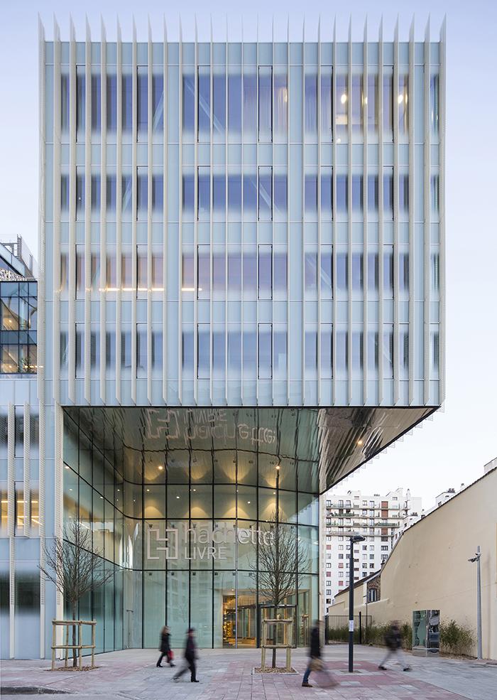 Siège d'Hachette Livres - Jacques Ferrier Architecture © Luc Boegly