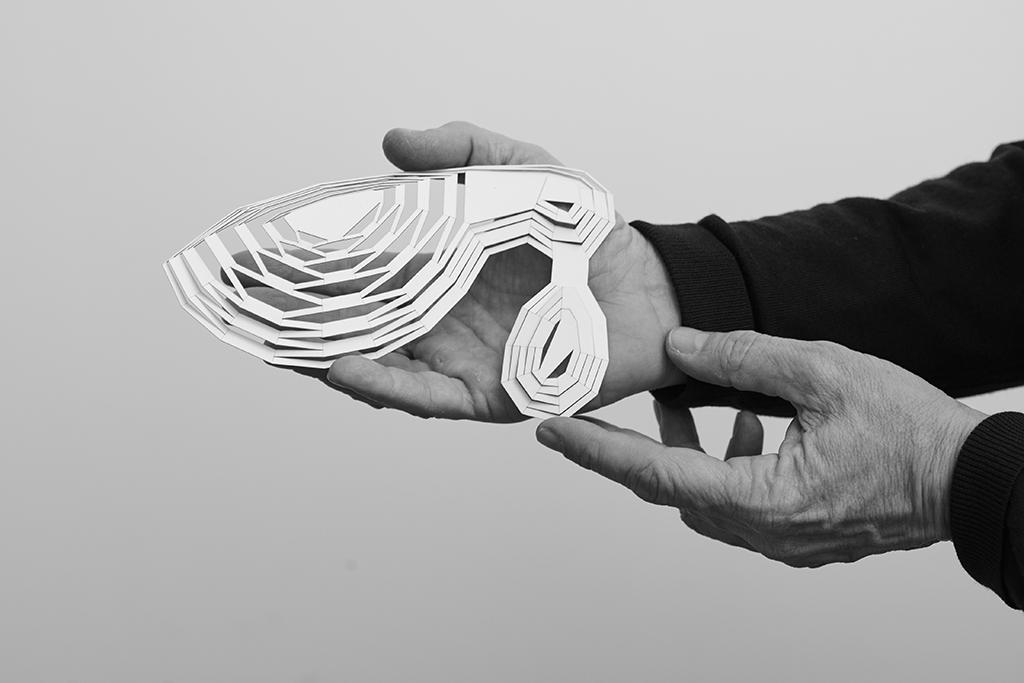 Maquette de concept - Jacques Ferrier Architecture © Hugo Deniau