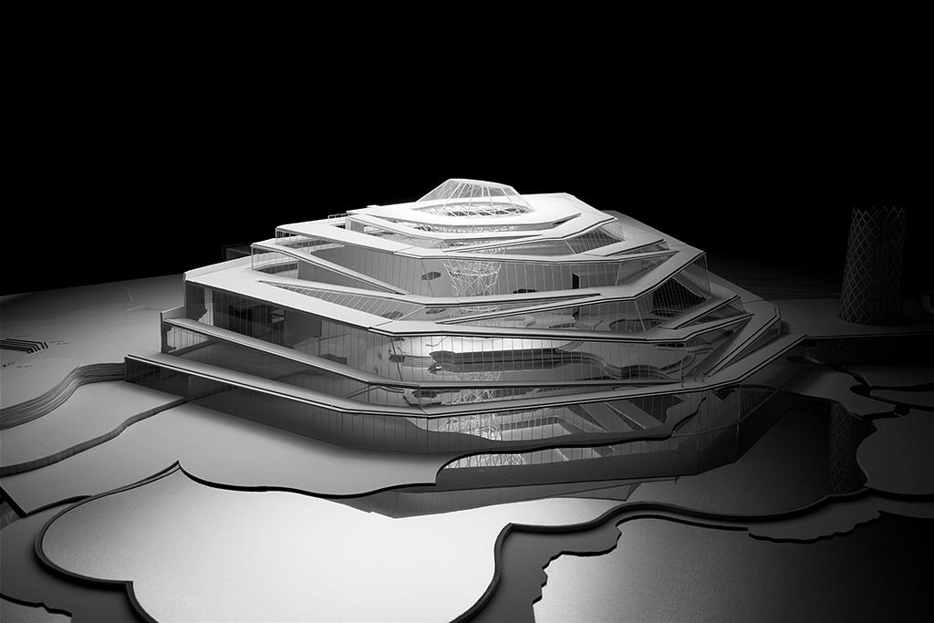 Maquette - Jacques Ferrier Architecture © Hugo Deniau