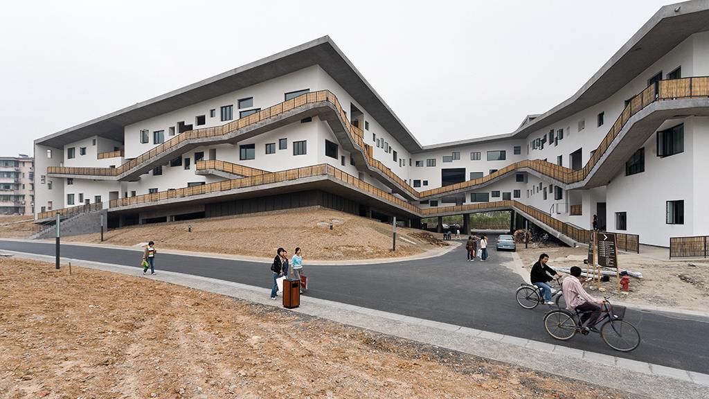 Xiangshan campus de l'Academie des Arts, 2007 © Iwan Baan