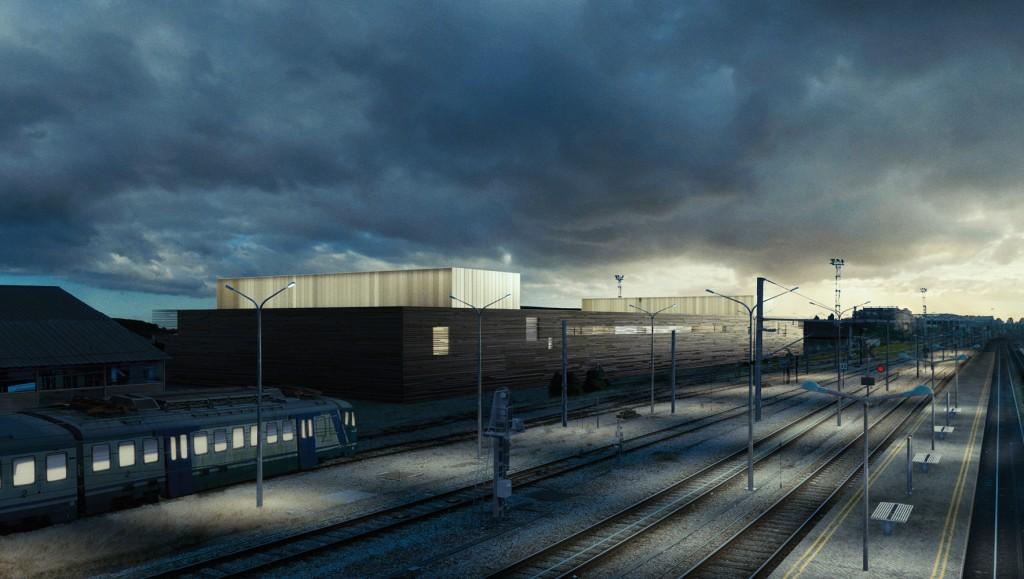 Centre de commande ferroviaire, Pantin (93), Livraison 2021 © M.Tripodi