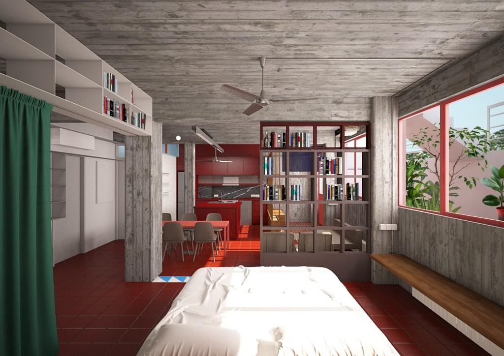 Ilioupoli Apartment, Athens ©Point Suprême