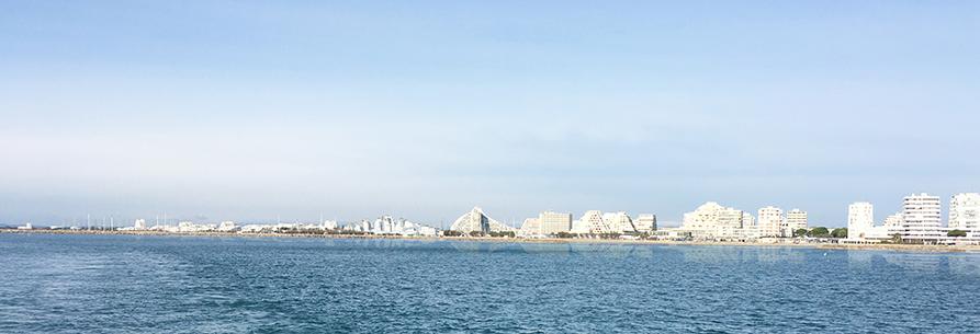 Projet Ville-Port, La Grande Motte © Leclercq Associés