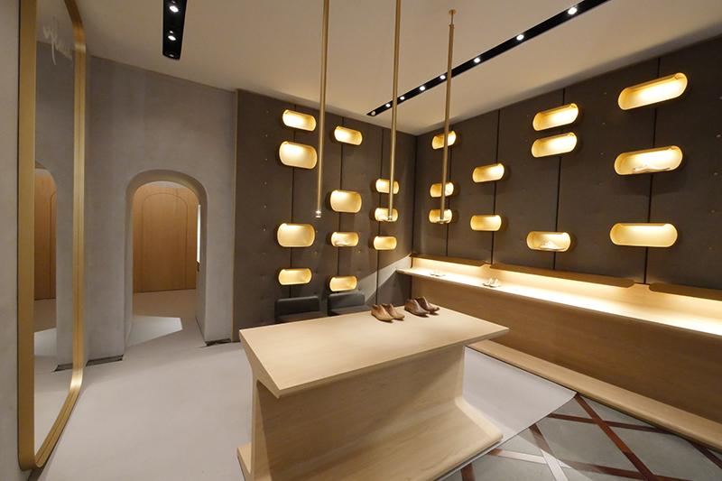 Boutique Almini, Milan (2016) © Cino Zucchi Architetti