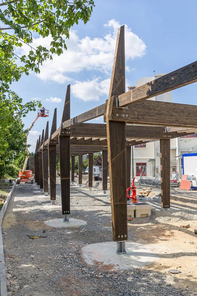 État du projet en juin 2018 © Dimitri Lamour