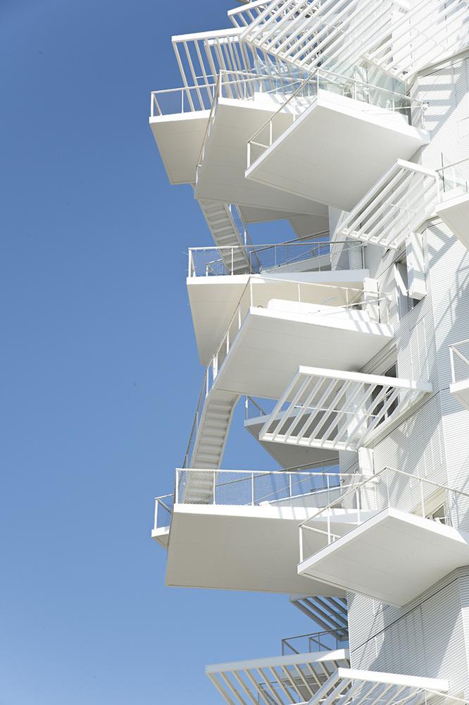 © Nicolas Laisné Architectes - Montpelier Arbre Blanc balcons
