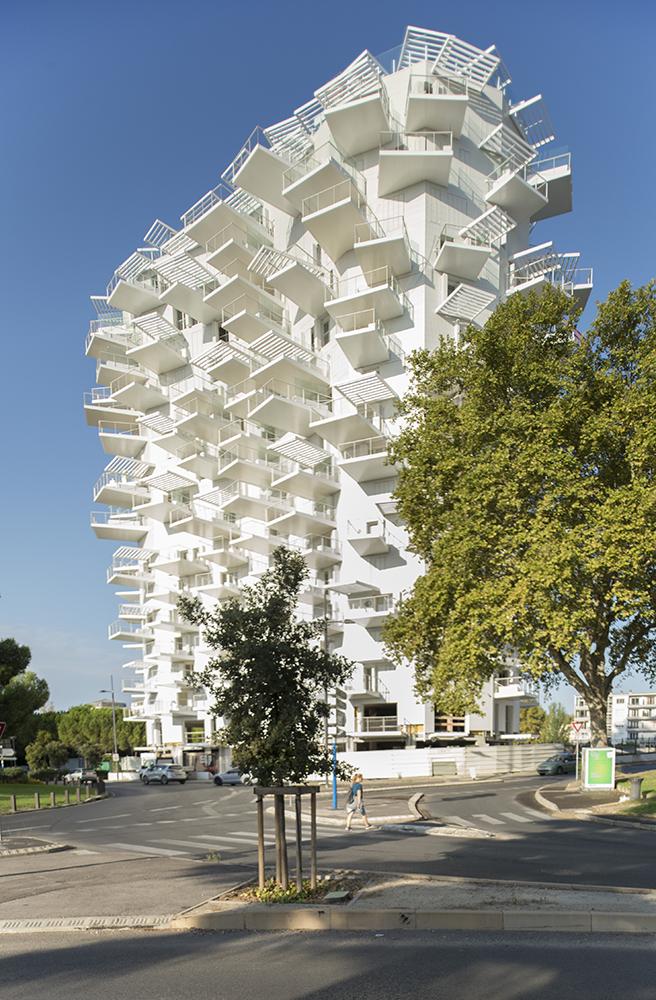 © Nicolas Laisné Architectes - Montpelier Arbre Blanc extérieurs