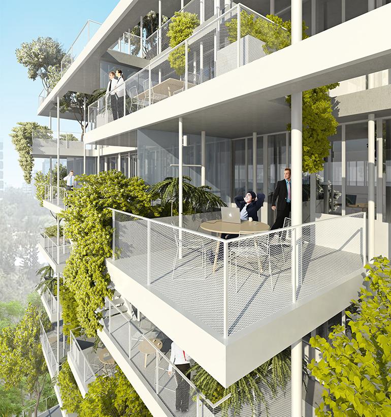 © Nicolas Laisné Architectes - Dimitri Roussel - Nice Anis Meridia balcons