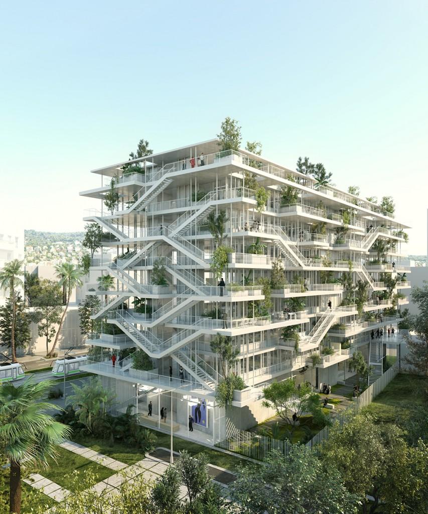 © Nicolas Laisné Architectes - Dimitri Roussel - RSI studio - Nice Anis Meridia extérieurs