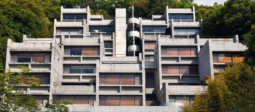 Tadao Ando, ensemble d'habitations Rokko, Kobe, Japon, 1981-1998 © The Rokko Apartment