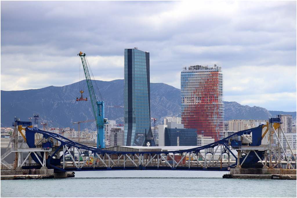 Façade nord vue depuis le port © Michèle Clavel