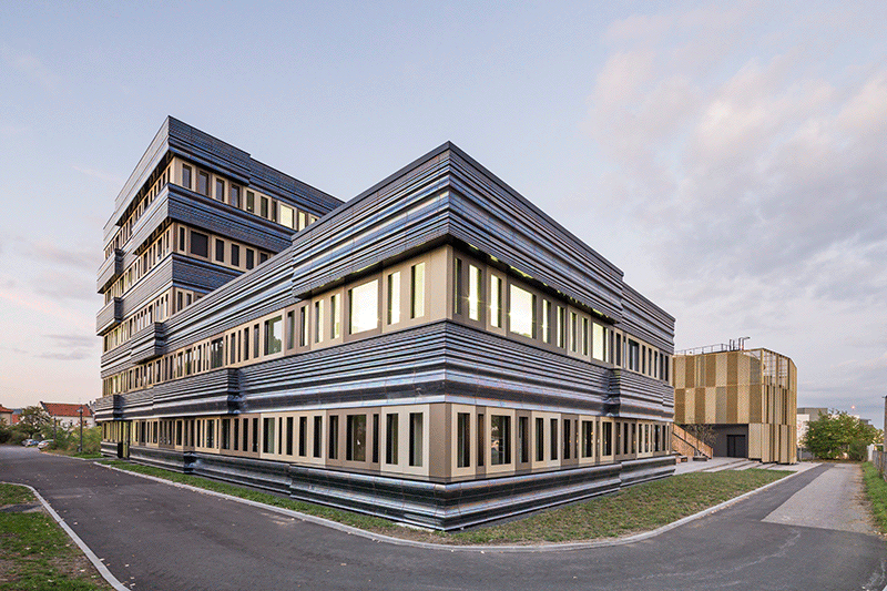 CBC - Centre de recherche bio-climatique, Clermont-Ferrand, 2017 © Luc Boegly