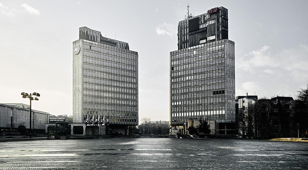 Edvard Ravnikar, Revolution Square (aujourd'hui Republic Square), 1960–74, Ljubljana, Slovénie © Valentin Jeck, commissioned by The Museum of Modern Art, 2016
