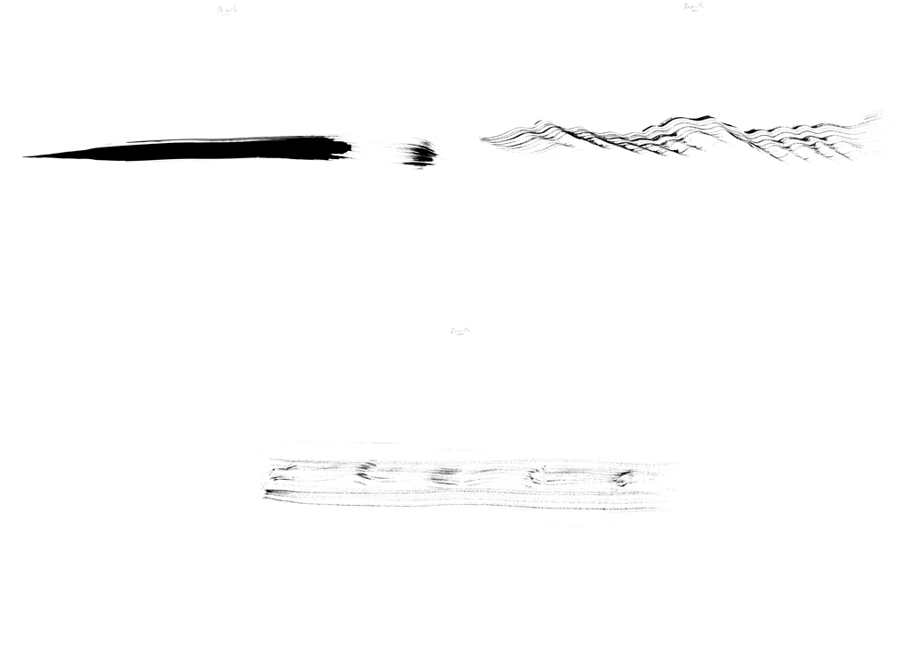 Croquis de spacialisation - Passerelle © Nicolas Frize – RHIZOME
