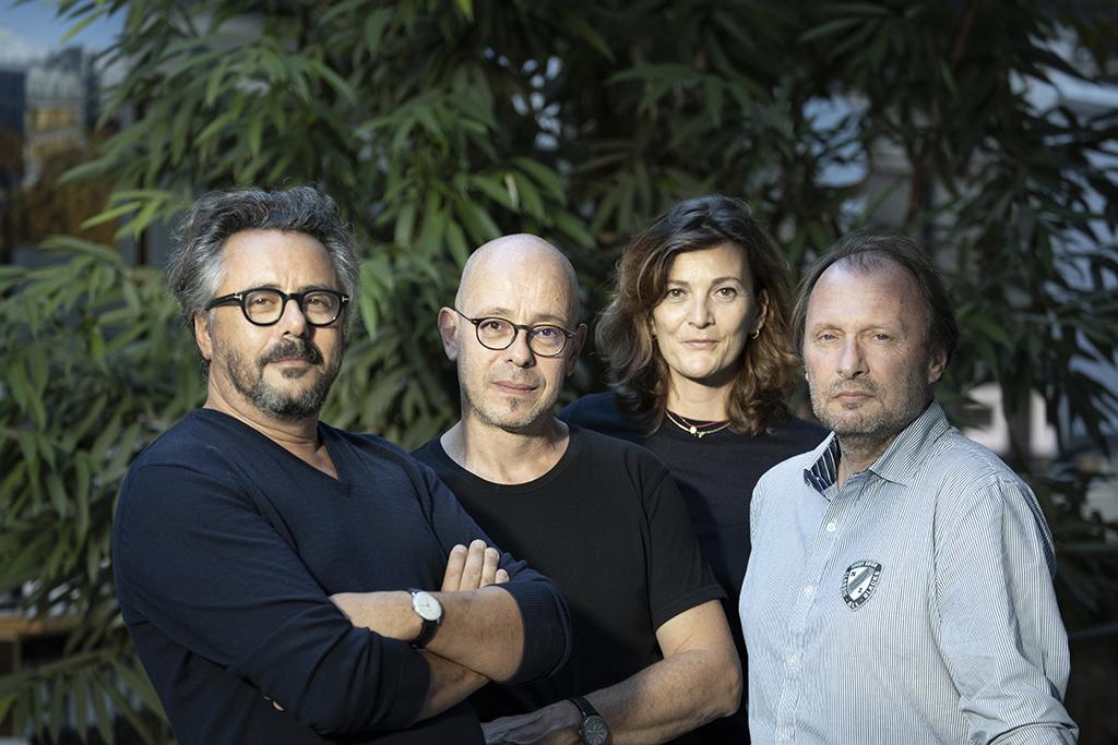 Jacques Sebbag, Laurent Boudrillet, Anne Pezzoni, Bernard Guillien © Sergio Grazia