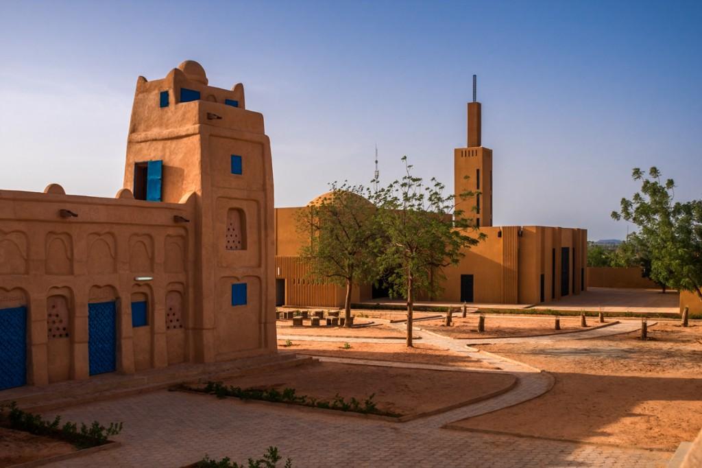 Complexe culturel, Dandaji, Niger © James Wang