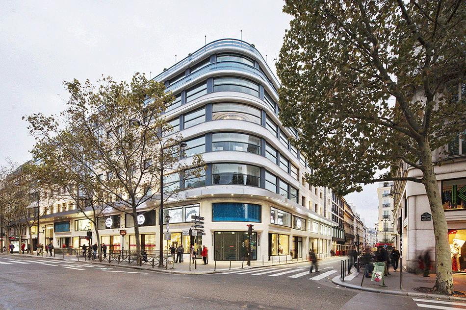 Les Trois Quartiers, en association avec Laurent Goudchaux, Paris, 2013 © Luc Boegly