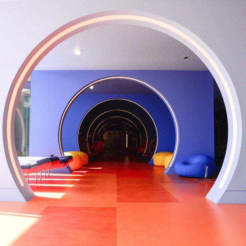 Hôtel NHow - NH Hôtel - Marseille. © Mads Mogensen