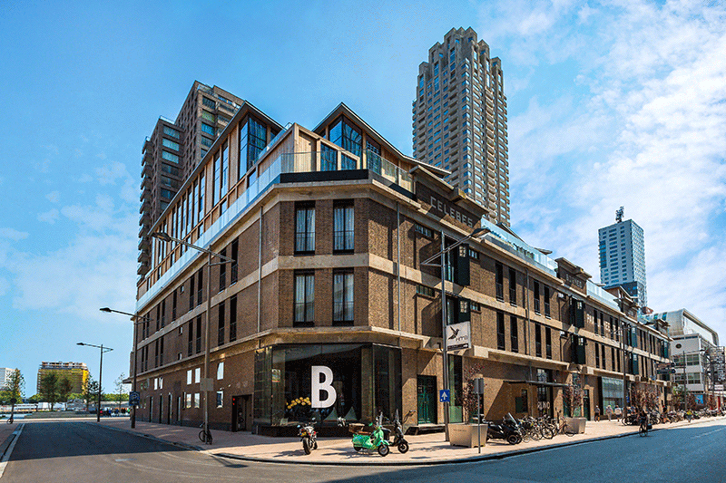 Bruno Hôtel - Room Mate Hotels - Rotterdam, 2017. © Mads Mogensen