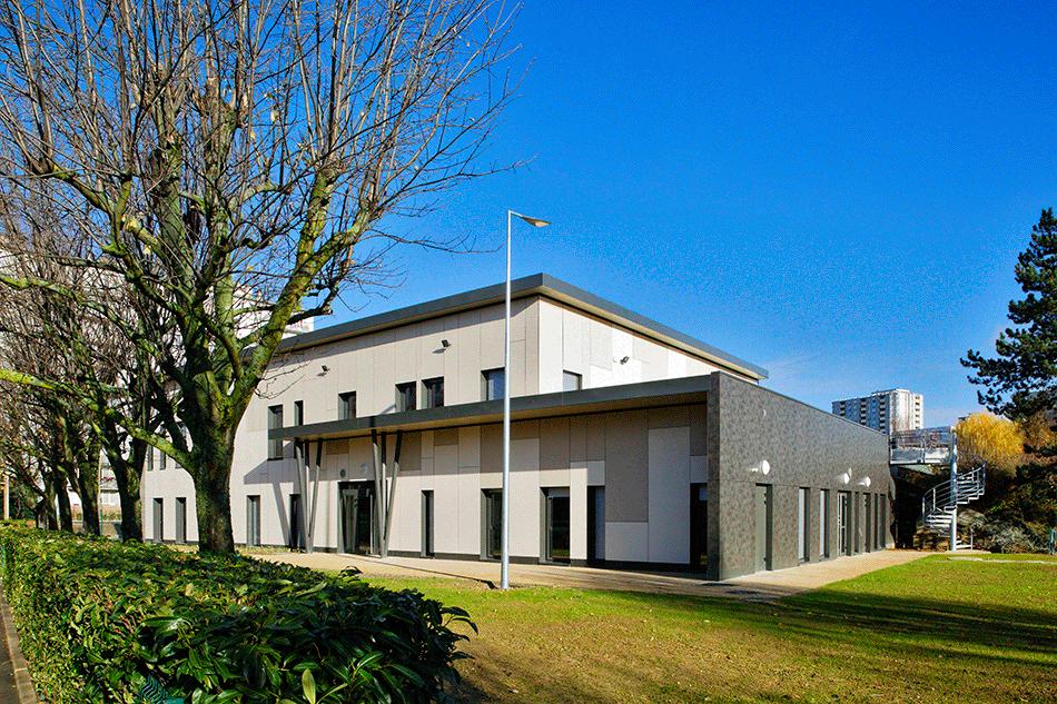 Groupe scolaire Lallier, L'Haÿ-les-Roses, 2018 © Atelier Aconcept
