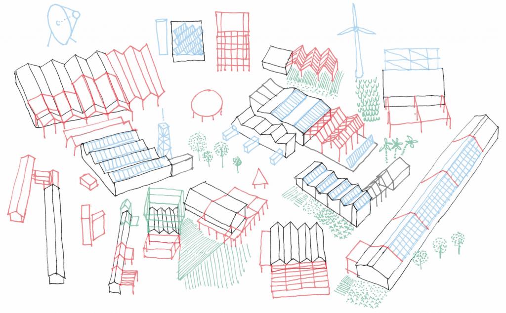 """Permacultures urbaines"", David Palussière, Camille Tréchot-Jasnault, Angers, mention spéciale © Permaculture urbaines - Europan France"