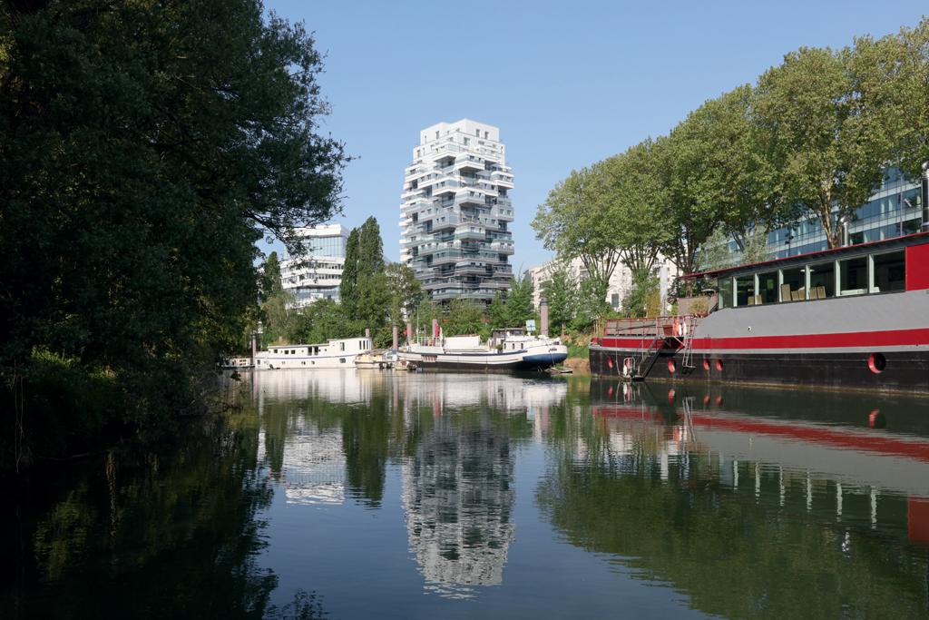 Aménagement éco-quartier pont d'Issy, Issy-les-Moulineaux, 2018 ©-JPPorcher