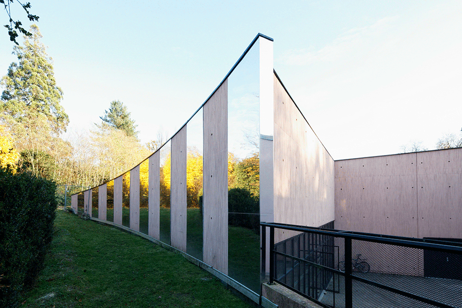 Salle polyvalente, Soisy-sur-Seine, 2009 ©Atelier Aconcept
