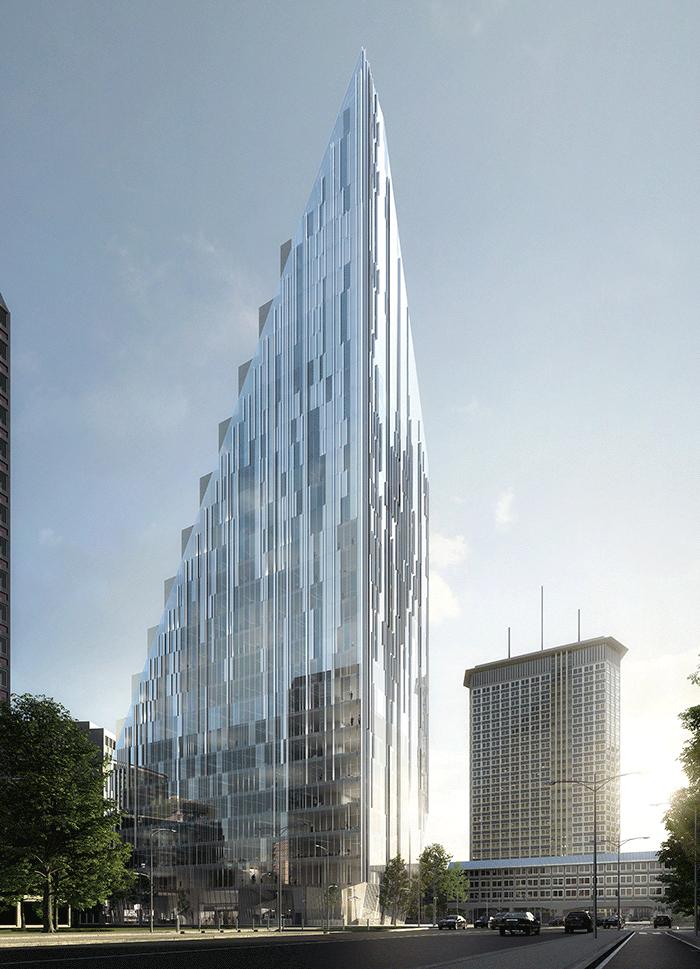 Tour de bureaux GIOIA20, Milan © Atelier(s) Alfonso Femia & Diorama