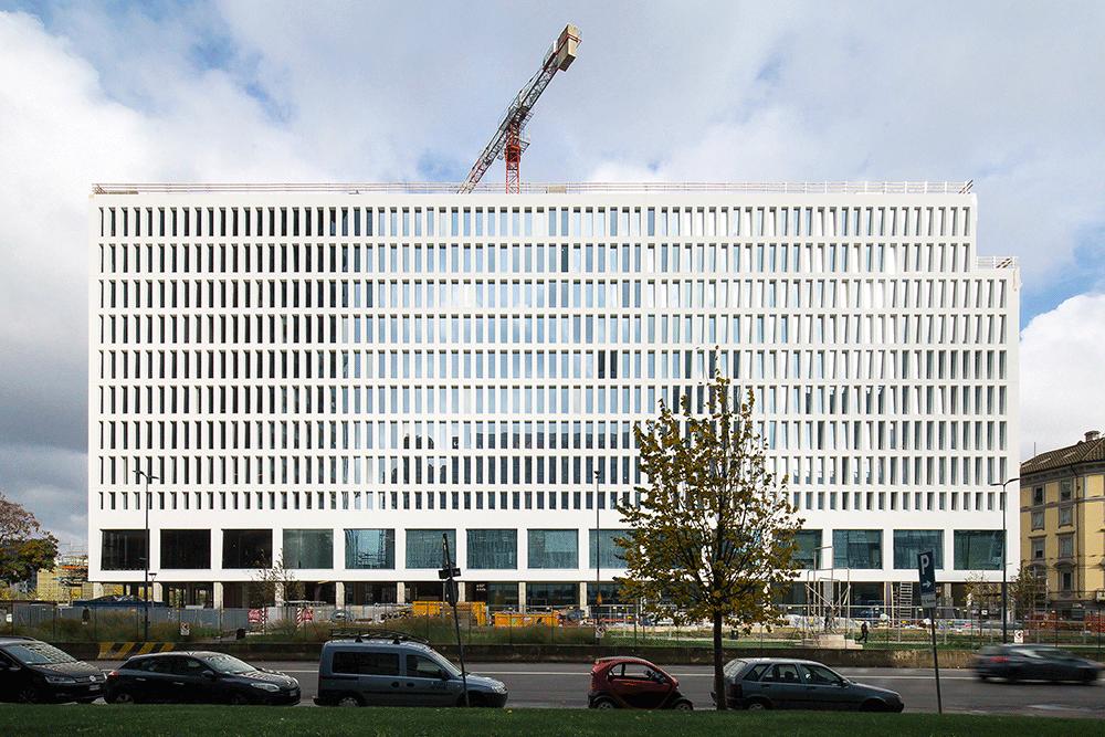 The Corner, restructuration d'un immeuble de bureaux, Milan © Stefano Anzini