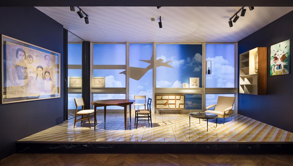 Exposition « Tutto Ponti, Gio Ponti Archi-Designer », Musée des Arts Décoratifs, Paris, 2018 © Luc Boegly