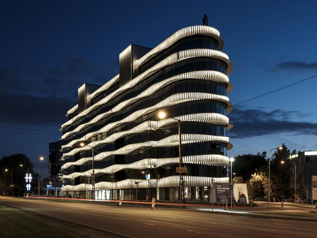 Immeuble de bureaux, Tallin, Estonie, 2017 © KOKO architects + Tonu Tunnel