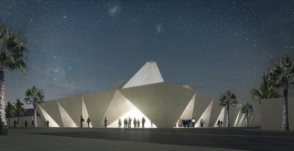 Musée et Centre culturel « La grande escale », Maroc, livraison prévue en 2020 © EGA Erik Giudice Architecture
