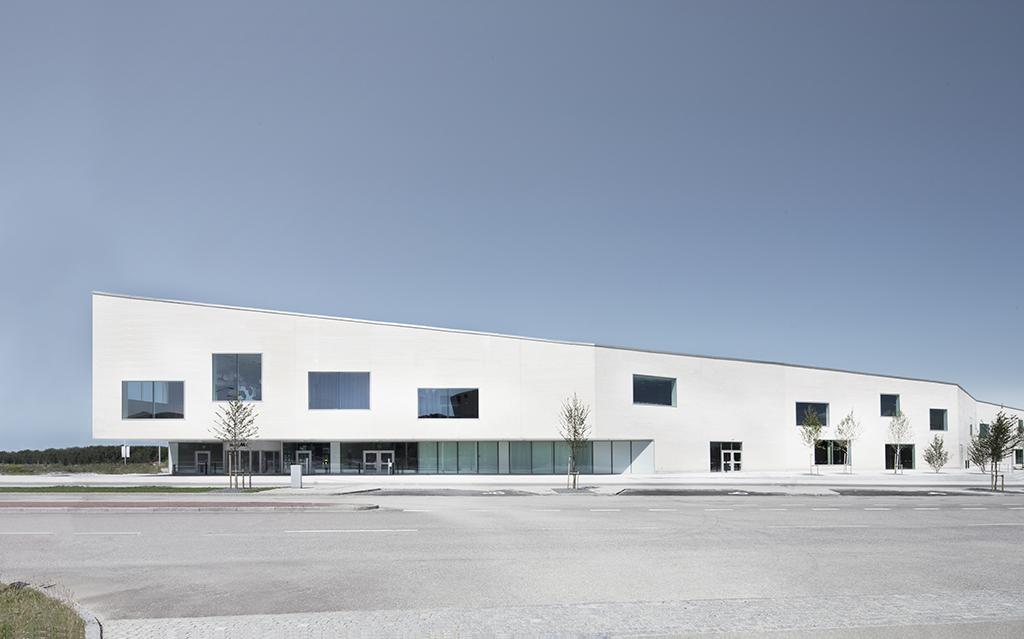Centre de conférences et d'expositions Malmö Massan, Suède, 2012 © Martin Paluen
