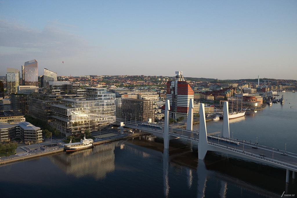 Programme mixte Platinan, Suède, livraison prévue en 2019 © EGA Erik Giudice Architecture