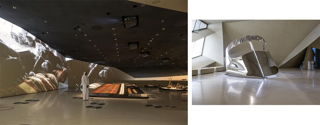 Musée national du Qatar, Ateliers Jean Nouvel © Danica Kus