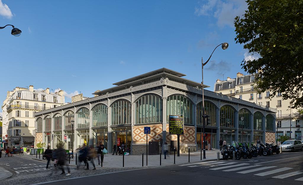 Secrétan Market Hall, Paris, 2015 © Didier Boy de la Tour