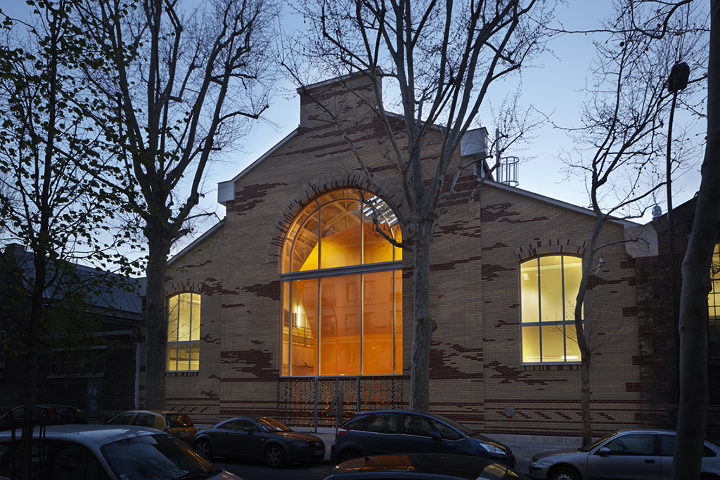 Halles technologiques de l'Ecole Nationale Supérieure d'Arts et Métiers-ParisTech, Paris, 2013 © Frédéric Delangle
