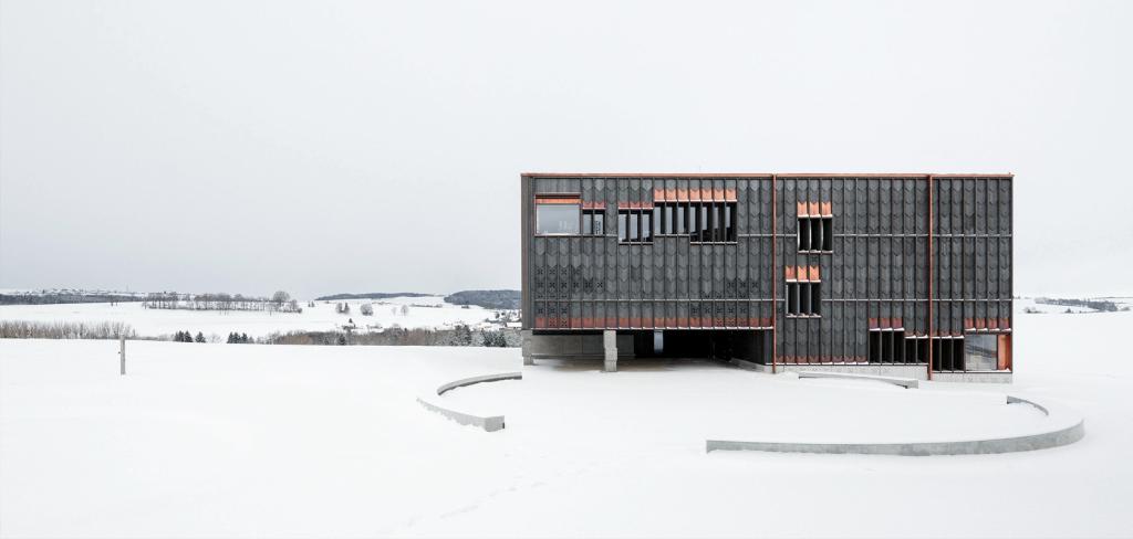 School, Orsonnens, Swiss, 2014.© Luis Diaz