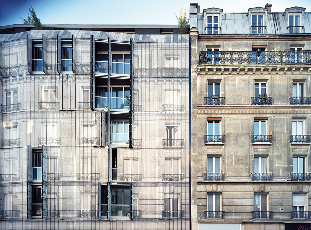 The apartments by Chartier-Corbasson in Paris'18th arrondissement  © Romain Meffre & Yves Marchand