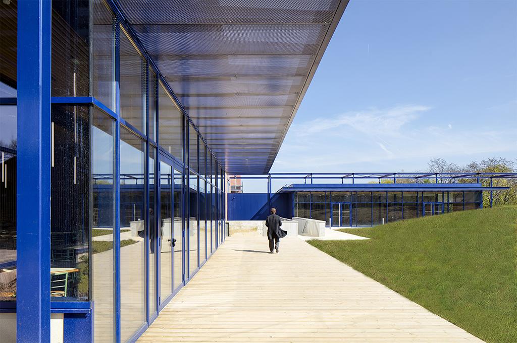 Centre de formation du Ministère de l'Intérieur, Lognes, 2016 © Michel Denancé