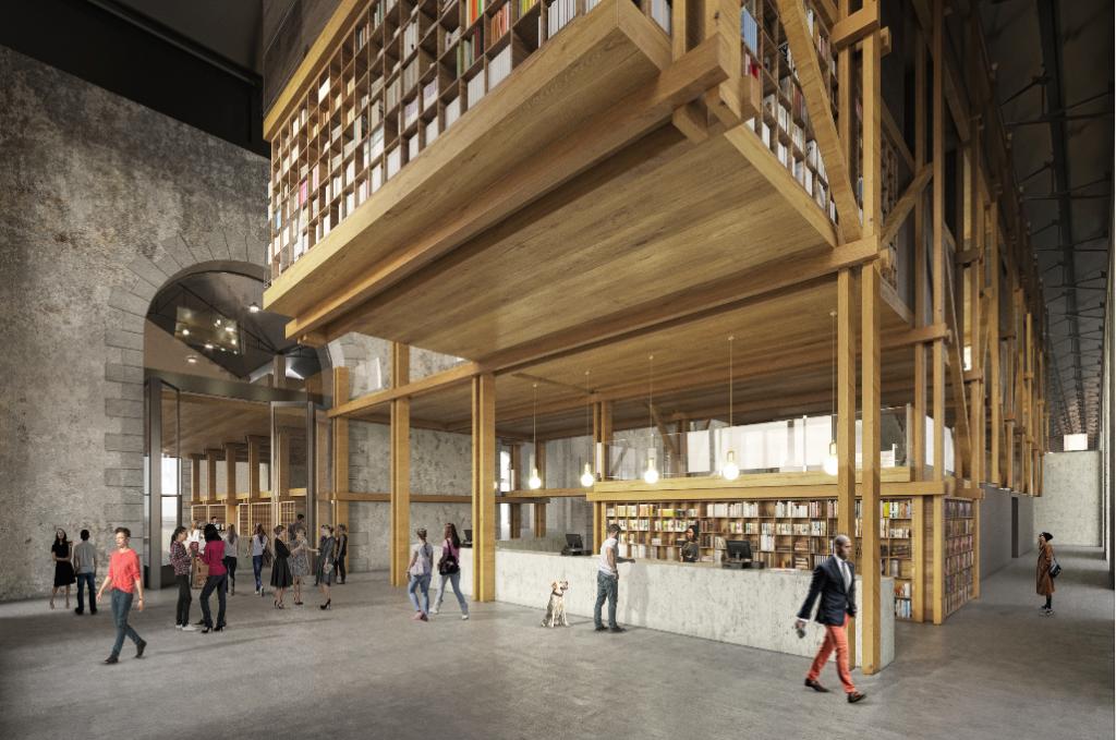 Caractère Spécial, Centre national des arts de la rue et de l'espace public, concours, Brest, 2018 © El Atelier