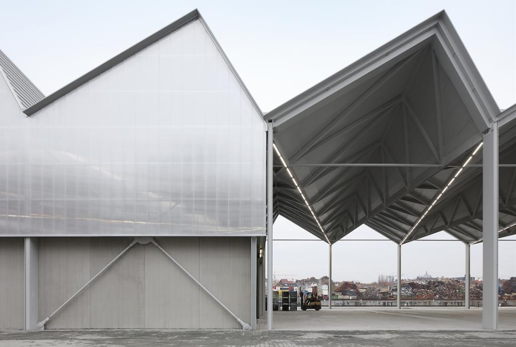 TETRA architecten, Construction Village, Brussels © TETRA architecten