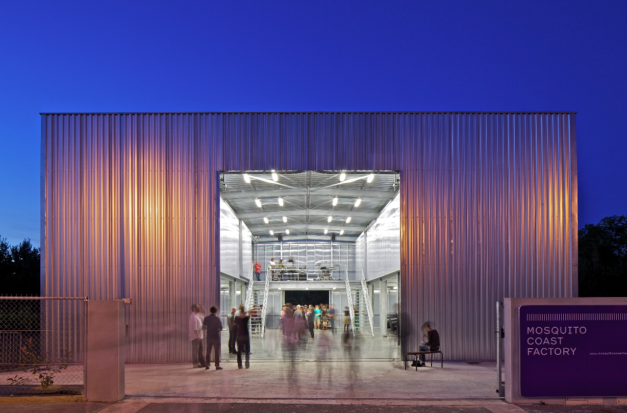 Centre d'art contemporain Mosquito Coast Factory, Campbon, 2012