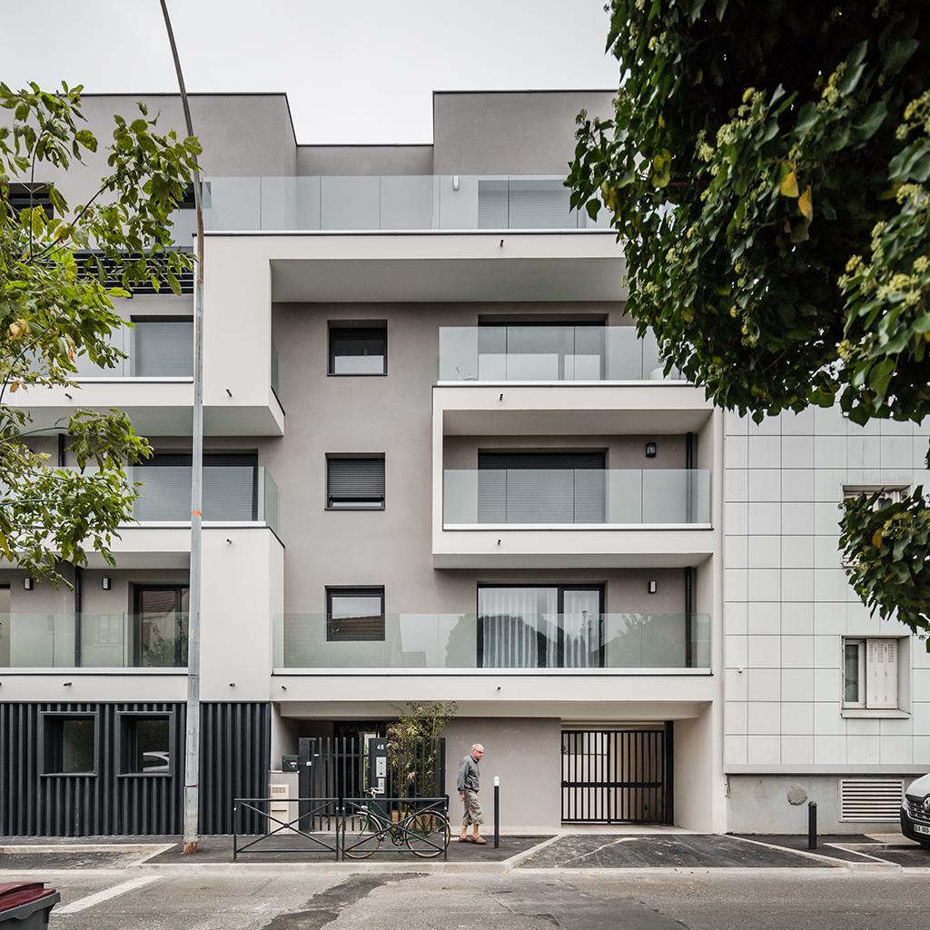Logements collectifs Jean Jaurès, Romainville 2017 © João Morgado